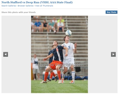 North Stafford vs Deep Run, VHSL AAA Boys Soccer Virginia State Championship 2011